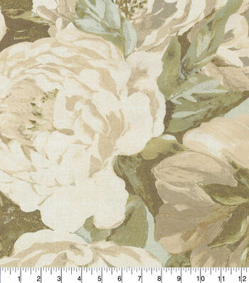 Kelly Ripa Home Upholstery Swatch 13''x13''-Seaglass Va Va Bloom