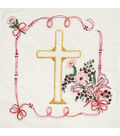 Fairway Stamped Quilt Blocks Cross