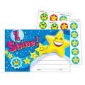 Trend Enterprises Inc. I Shine! Emojis Scratch \u0027n Sniff Awards, 24/Pack