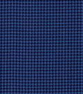 Quilter\u0027s Flannel Fabric-Houndstooth on Blue
