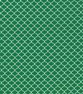Keepsake Calico Cotton Fabric 43\u0022-Green Quarterfoil