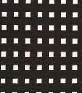 Die Cut Scuba Knit Fabric-Black