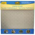 Aluminum Metal Sheet 12\u0022X12\u0022-Mosaic