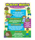 Teacher Created Resources Healthy Habits for Healthy Kids Chart 6pk