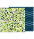 Pebbles Jen Hadfield Patio Party 25 pk Double-Sided Cardstock-Shady Spot