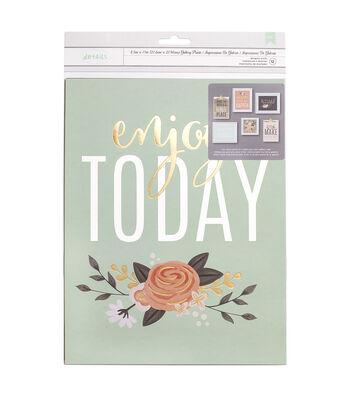 Jen Hadfield Designer Wall Prints-Enjoy Today