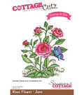 CottageCutz Stamp & Die Set-Rose-June