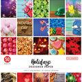 Colorbok 68lb Designer Single-Sided Paper 12\u0022X12\u0022 Holidays, 25 Designs