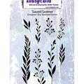 Indigoblu Cling Stmp-Laurel Leaves