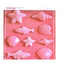 Stamperia Stampo Maxi 9 pk Soft Molds-Small Fish