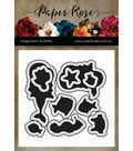 Paper Rose 10 pk Metal Dies-Mermaid Magic