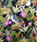 Cotton Shirting Tropical Fabric -Tropical Palm