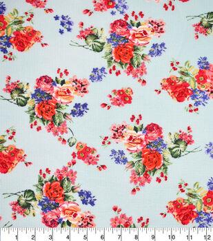 Fast Fashion Bubble Crepe Knit Fabric-Mint Karyssa