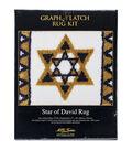 Latch Hook Kit 27\u0022X20\u0022-Star Of David