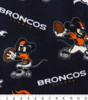 Denver Broncos Fleece Fabric-Mickey, , hi-res