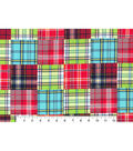 Nursery Cotton Fabric 43\u0027\u0027-Madras Plaid