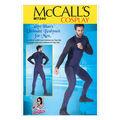 McCall\u0027s Pattern M7340-Men\u0027s Zippered Bodysuit by Yaya Han