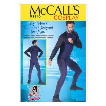 McCall's Pattern M7340-Men's Zippered Bodysuit by Yaya Han