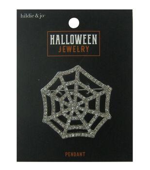 hildie & jo Halloween Pin-Spider Web