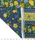 Premium Quilt Cotton Fabric 44\u0022-La Fleur