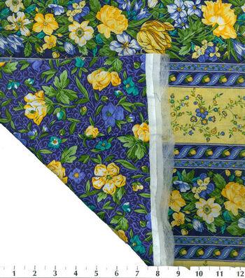 Premium Quilt Cotton Fabric -La Fleur