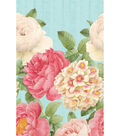 Blissful Blooms Table Cover 54\u0022X102\u0022-Green & Pink