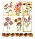 Penny Black Sticker Sheet 7\u0022X9\u0022-Garden Poems