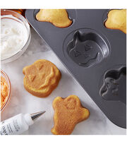 Wilton Mini Cake Pans-Ghost and Jack O Lantern, , hi-res