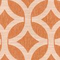 Waverly Multi-Purpose Decor Fabric 55\u0022-Ludlow Lattice/Persimmon