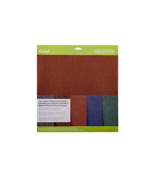 Cricut Metallic Faux Leather Sampler Patina