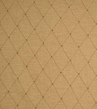 "Jaclyn Smith Lightweight Decor Fabric 54""-Jasso /Caramel"