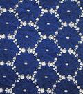 Endless Sea Lace Fabric 57\u0027\u0027-Blue Flower