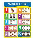 Carson-Dellosa Numbers 1-10 Chart 6pk