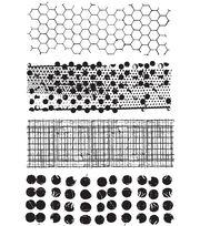 Tim Holtz Cling Rubber Stamp Set-Mixed Media, , hi-res