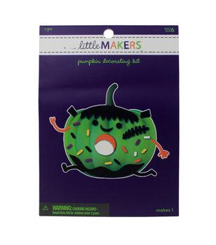 Little Makers Halloween Foam Pumpkin Decorating Kit-Frank