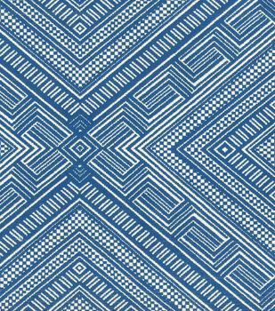 "Waverly Multi-Purpose Decor Fabric 57""-Cliff Dwelling/Lapis"