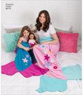 Simplicity Pattern 8275 Children\u0027s, Adults\u0027 & 18\u0027\u0027 Doll Blankets