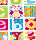 Snuggle Flannel Fabric -Baby Patches