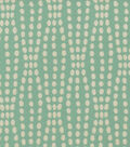 Waverly Upholstery Fabric 55\u0022-Strands/ Turquoise