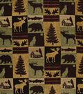 Lightweight Decor Fabric-Regal Fabrics Fairbanks Evergreen