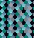 Snuggle Flannel Fabric 42\u0027\u0027-Dragon Scales