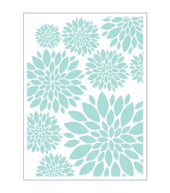 Park Lane A2 Embossing Folder-Chrysanthemum