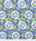 Robert Allen @ Home Lightweight Decor Fabric 54\u0022-Mum Floral Hydrangea