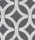 Home Decor 8\u0022x8\u0022 Swatch Fabric-Waverly Ludlow Lattice Charcoal