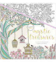 Kaisercraft KaiserColour Perfect Bound Coloring Book-Mystic Treasures, , hi-res