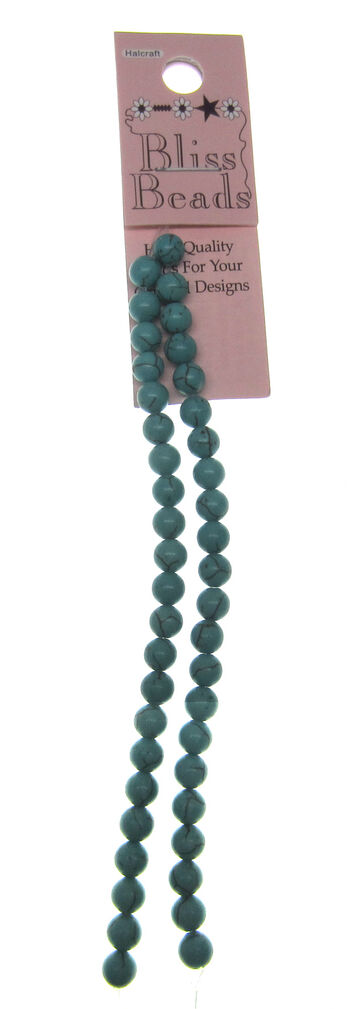 Turquoise Dyed Howlite Stone
