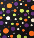 Holiday Inspirations Fleece Fabric 59\u0022-Multi Dot