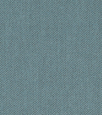 "Crypton Upholstery Fabric 54""-Herringbone Blue Bill"