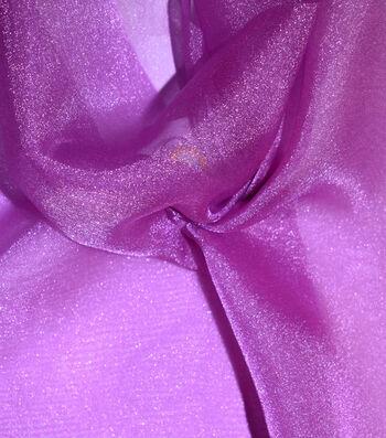 Casa Gardenia Crepon Sheer Fabric 58''-Deep Orchid
