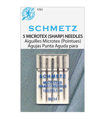 Schmetz Microtex Sharp Needles 90/14